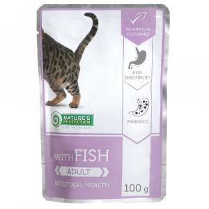即食湯包 Nature's Protection 貓隻主食袋裝濕糧 (魚) 100g 寵物用品店推薦
