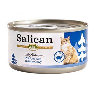 罐頭食品 Salican 羊肉貓罐頭 (肉汁) 85g 寵物用品店推薦