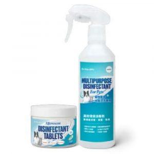 家居清潔 潔博士 Dr. Klen 高效環保消毒水溶片入門套裝連噴瓶 寵物用品店推薦