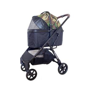 手推車及手提箱 Piccolo Cane ECO Liona 寵物手推車 (含雨檔) 寵物用品店推薦