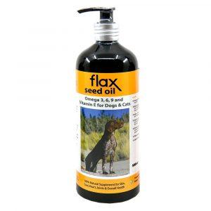 狗用產品 Flourflax 紐西蘭天然亞麻籽油 寵物用品店推薦