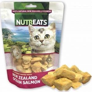 乾糧 Nutreats 紐西蘭凍乾三文魚肉 (貓用) 50g 寵物用品店推薦