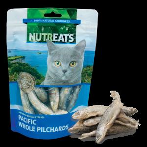 乾糧 Nutreats 紐西蘭凍乾沙甸魚 (貓用) 50g 寵物用品店推薦