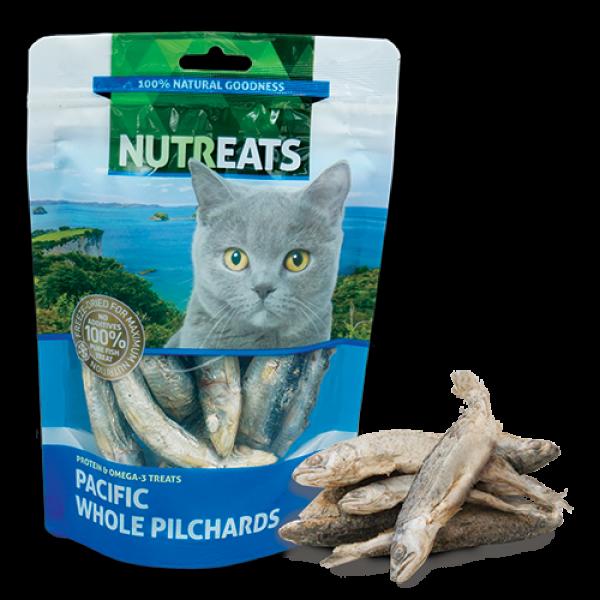 小食 Nutreats 紐西蘭凍乾沙甸魚 (貓用) 50g 寵物用品店推薦