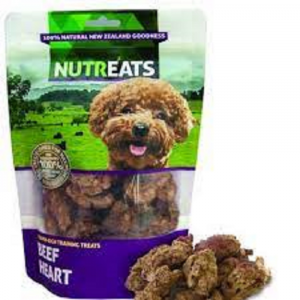 乾糧 Nutreats 紐西蘭凍乾牛心 50g 寵物用品店推薦