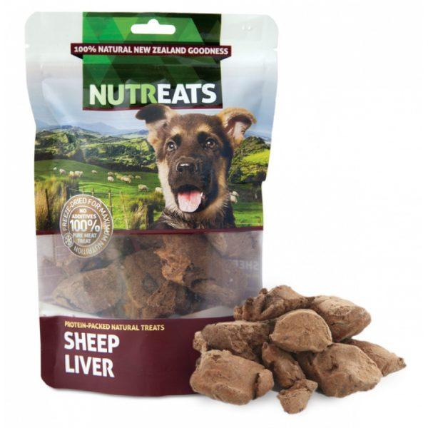 小食 Nutreats 紐西蘭凍乾羊肝 50g 寵物用品店推薦