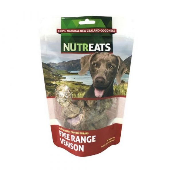 小食 Nutreats 紐西蘭凍乾鹿肉 50g 寵物用品店推薦