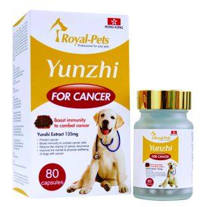 狗用產品 Royal-Pets 純正雲芝 80粒膠囊 寵物用品店推薦