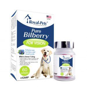狗用產品 Royal-Pets 純正藍莓 60粒軟膠囊 寵物用品店推薦
