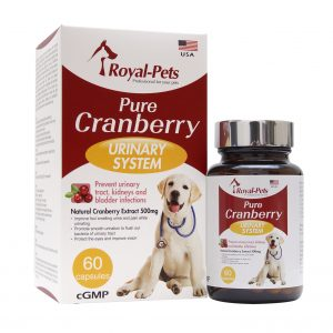 口腔護理 Royal-Pets 純正小紅莓 60粒膠囊 寵物用品店推薦