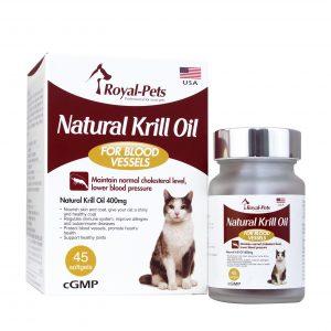 皮膚護理 Royal-Pets 天然磷蝦油丸 45粒軟膠囊 寵物用品店推薦