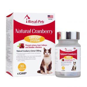 口腔護理 Royal-Pets 天然小紅莓 30粒膠囊 寵物用品店推薦