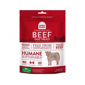 小食 Open Farm 冷凍脫水牛肉小食 4.5oz 寵物用品店推薦