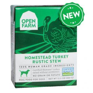 即食湯包 Open Farm 火雞燉肉配方狗濕糧 12.5oz 寵物用品店推薦