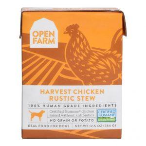 即食湯包 Open Farm 走地雞燉肉配方狗濕糧 12.5oz 寵物用品店推薦