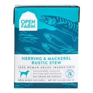 即食湯包 Open Farm 鯡魚鯖魚燉肉配方狗濕糧 12.5oz 寵物用品店推薦