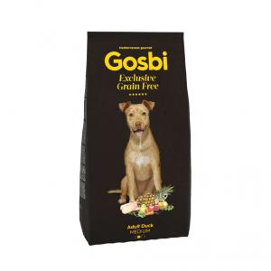 乾糧 Gosbi 低敏中型成犬鴨肉配方 寵物用品店推薦