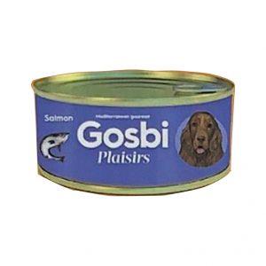 狗用糧食 Gosbi 成犬三文魚罐頭 185g 寵物用品店推薦