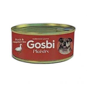 狗用糧食 Gosbi 成犬鴨肉和紅桑子罐頭 185g 寵物用品店推薦
