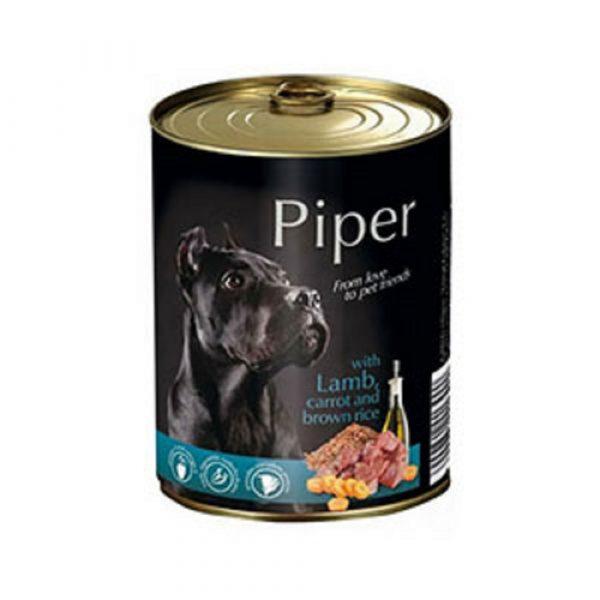 狗用糧食 Dolina Noteci 黑鑽愛犬罐頭 Piper Premium (成犬) 羊肉+甘荀+糙米 寵物用品店推薦