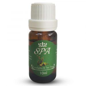 情緒護理 SPA Organic 茶樹 & 尤加利 水晶香氛精油 10ml 寵物用品店推薦
