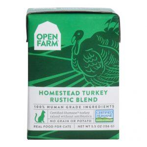 即食湯包 Open Farm 火雞燉肉配方貓濕糧 5.5oz 寵物用品店推薦