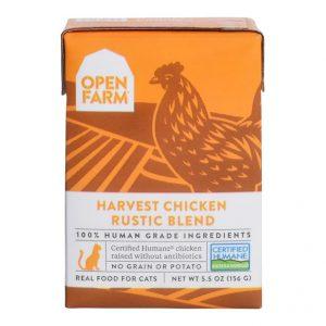 即食湯包 Open Farm 走地雞燉肉配方貓濕糧 5.5oz 寵物用品店推薦