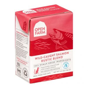 即食湯包 Open Farm 野生三文魚燉肉配方貓濕糧 5.5oz 寵物用品店推薦