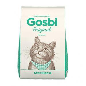 乾糧 Gosbi 成貓絶育及體重控制護理蔬果配方 寵物用品店推薦