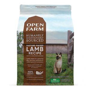 乾糧 Open Farm 無穀物放養羊蔬菜配方貓糧 寵物用品店推薦