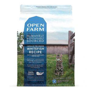 乾糧 Open Farm 無穀物海捕時令白魚扁豆配方貓糧 寵物用品店推薦