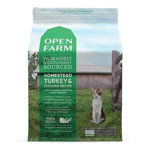 乾糧 Open Farm 無穀物火雞走地雞配方貓糧 寵物用品店推薦