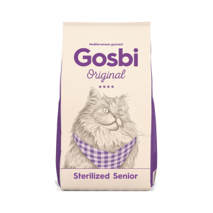 乾糧 Gosbi 老貓絶育蔬果配方 寵物用品店推薦