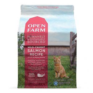 乾糧 Open Farm 無穀物野生三文魚配方貓糧 寵物用品店推薦