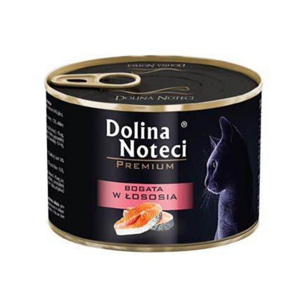罐頭食品 Dolina Noteci 特級愛貓罐頭 Premium Cat (成貓) 三文魚 185g 寵物用品店推薦