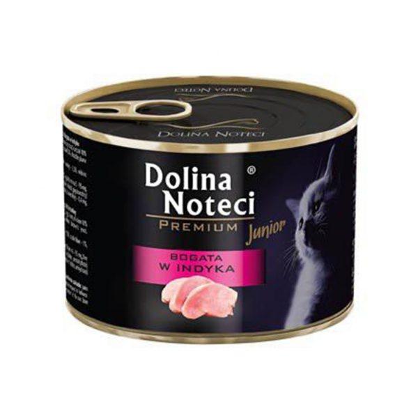 罐頭食品 Dolina Noteci 特級愛貓罐頭 Premium Cat (幼貓) 火雞肉 185g 寵物用品店推薦