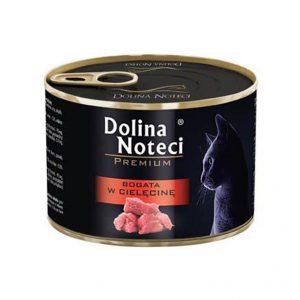 罐頭食品 Dolina Noteci 特級愛貓罐頭 Premium Cat (成貓) 牛仔肉 185g 寵物用品店推薦