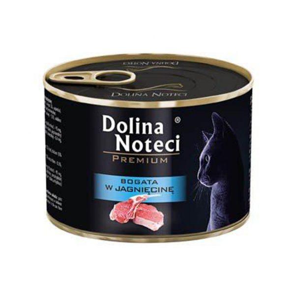 罐頭食品 Dolina Noteci 特級愛貓罐頭 Premium Cat (成貓) 羊肉 185g 寵物用品店推薦