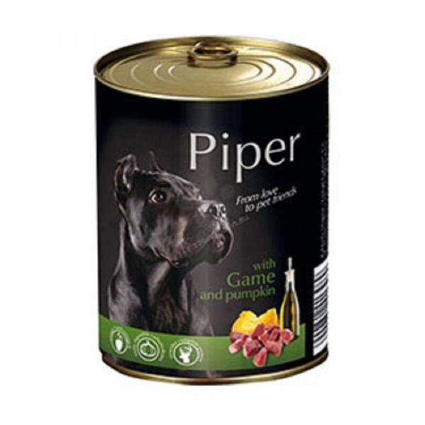 狗用糧食 Dolina Noteci 黑鑽愛犬罐頭 Piper Premium (成犬) 野味+南瓜 寵物用品店推薦