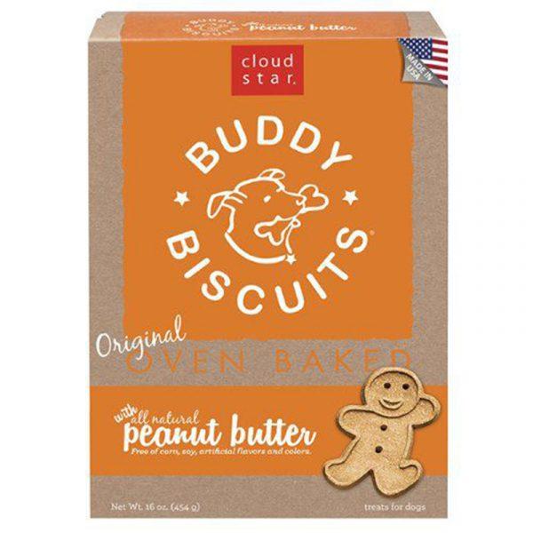 小食 寵星 Cloud Star Buddy 無添加花生牛油餅 16oz 寵物用品店推薦