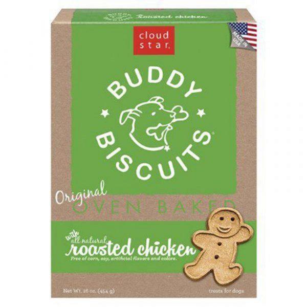 小食 寵星 Cloud Star Buddy 無添加雞味狗餅 16oz 寵物用品店推薦