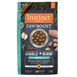 乾糧 Instinct 無穀物 + 凍乾生肉粒 – 幼犬 (雞) 4lbs 寵物用品店推薦