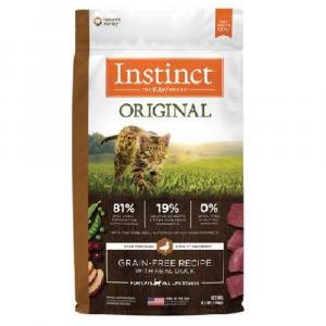 乾糧 Instinct 經典無穀物系列 – 全貓 (鴨) 寵物用品店推薦