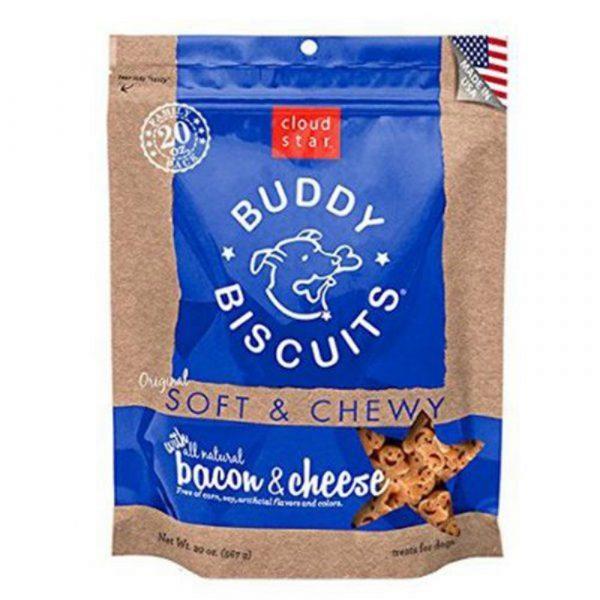 小食 寵星 Cloud Star Soft & Chewy (煙肉芝士) 滋味軟餅 6oz 寵物用品店推薦