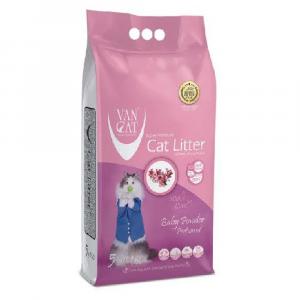 貓用產品 Van Cat 白礦砂 (爽身粉味) 5kg 寵物用品店推薦